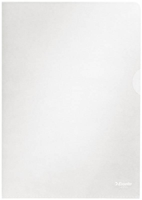 Billede af Plastomslag Esselte A5 0,105mm åben top/højre 100stk/pak