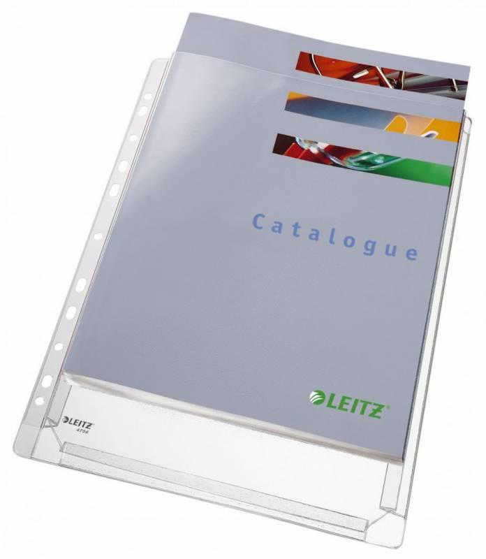 Billede af Kataloglommer Leitz A4 m/præg 170my 10stk/pak 47561003