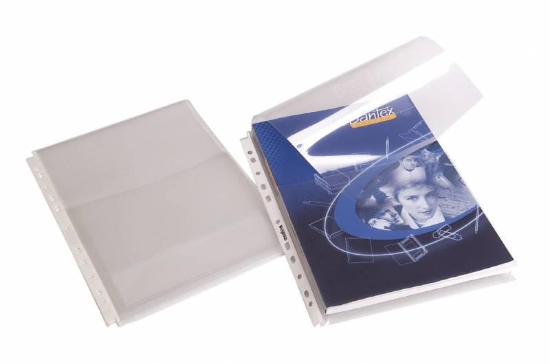 Billede af Kataloglommer A4 klar 0,18mm kapacitet 2 cm. 10stk/pak 2081