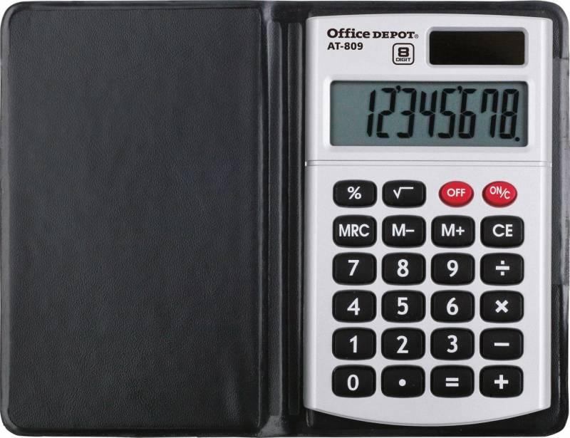 Image of   Lommeregner office DEPOT AT-809 8 cifre 2450093