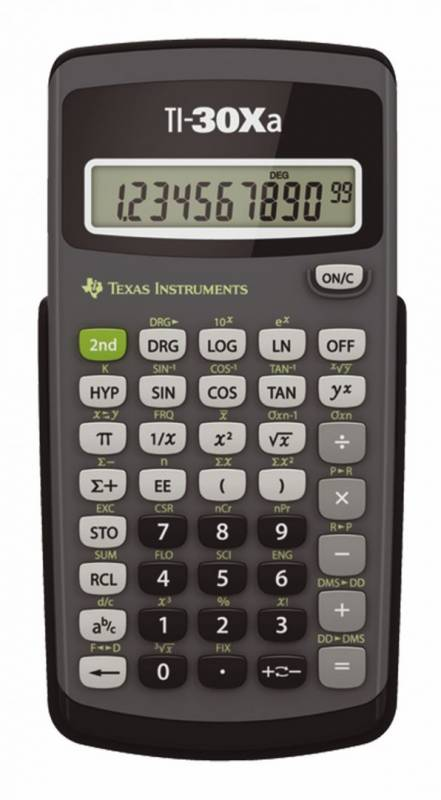 Image of   Texas TI-30Xa Scientific calculator
