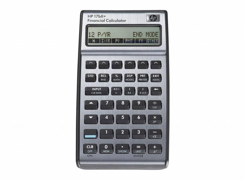 Finansregner HP 17BII+ (nordic manual)