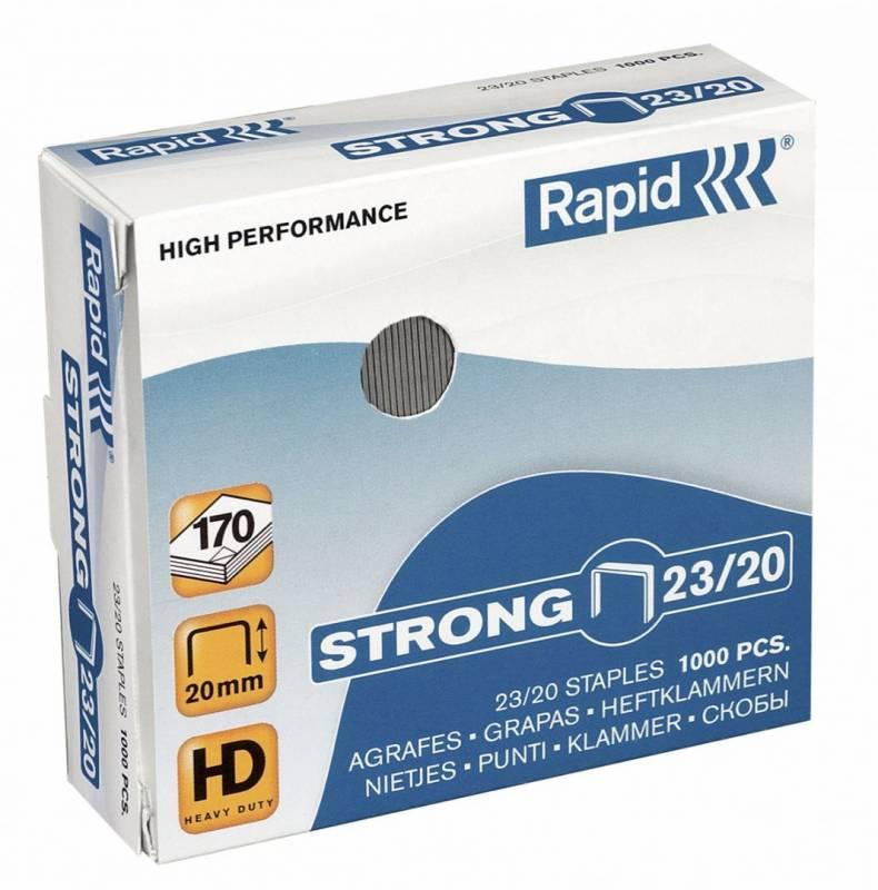 Image of   Hæfteklammer Rapid Strong 23/20 1000stk/pak