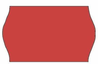 Etiket Meto 32x19mm fluor. rød frostlim 5 1000stk/rul
