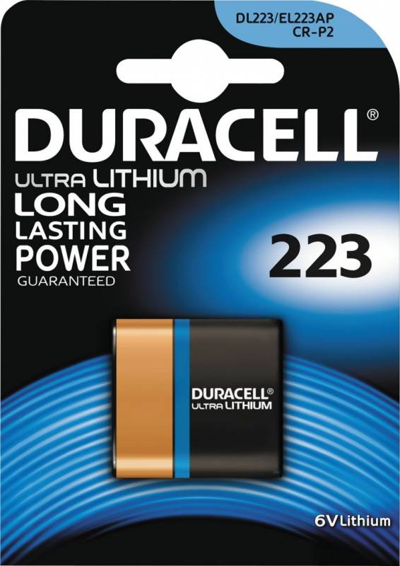 Image of   Batteri Duracell Ultra Photo 223 1stk/pak