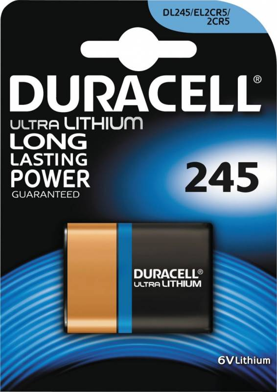 Image of   Batteri Duracell Ultra Photo 245 1stk/pak