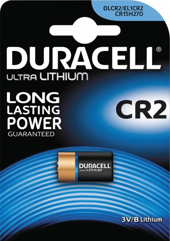 Image of   Batteri Duracell Ultra Photo CR2 Lithium 1stk/pak