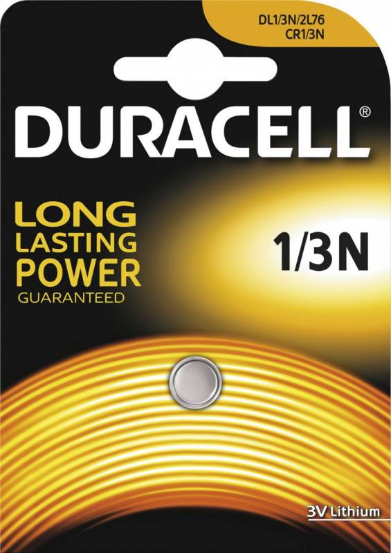Image of   Batteri Duracell Photo 1/3N 3V Lithium High Power 1stk/pak