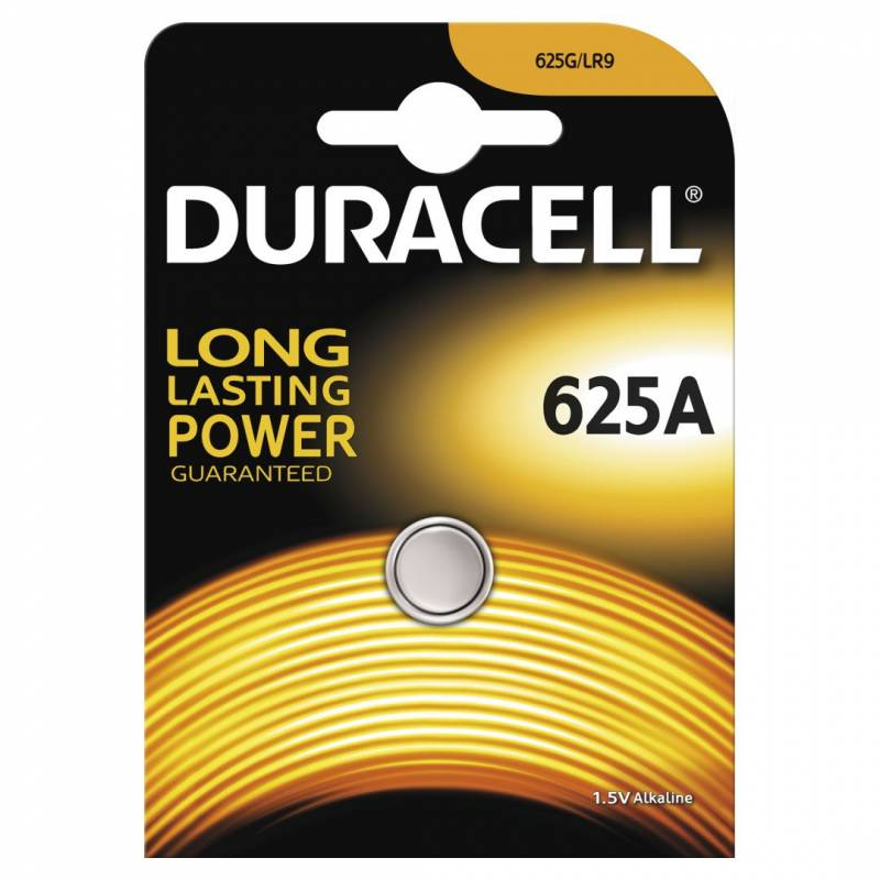 Image of   Batteri Duracell Photo 625A 1,5V 1stk/pak
