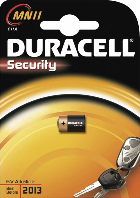 Image of   Batteri Duracell Security MN11 6V 1stk/pak
