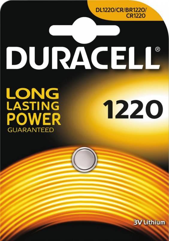 Image of   Batteri Duracell Electronics 1220 1stk/pak