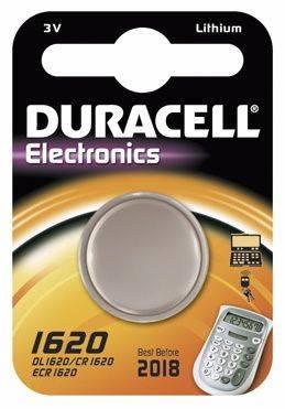 Image of   Batteri Duracell Electronics 1620 1stk/pak