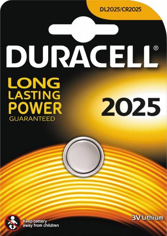 Image of   Batteri Duracell Electronics 2025 1stk/pak