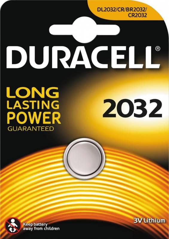 Image of   Batteri Duracell Electronics 2032 1stk/pak