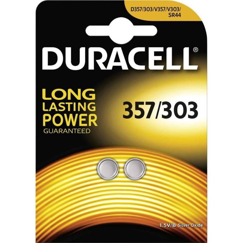 Image of   Batteri Duracell Electronics 357/303 2stk/pak