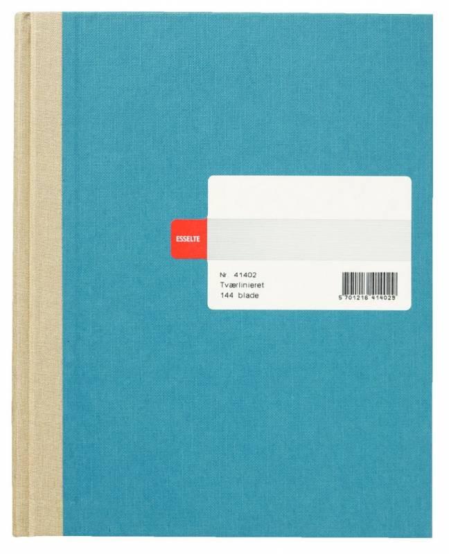 Protokolbog Esselte linieret assorteret 144bl/blk 41402