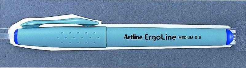Image of   Fineliner Artline ERG3600 blå Ergoline 0,6mm