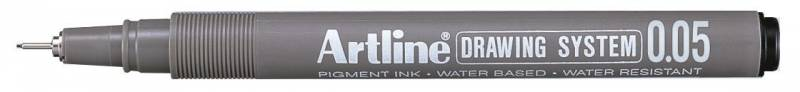 Image of   Fiberpen Artline EK2305 sort 0,05mm