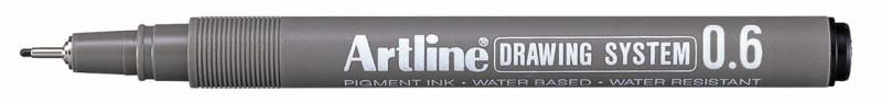 Image of   Fiberpen Artline EK236 sort 0,6mm