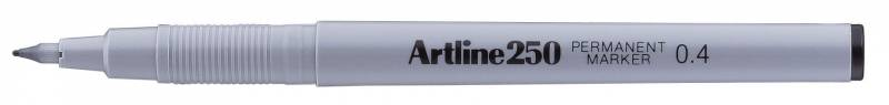 Image of   Marker Artline EK250 sort permanent 0,4mm
