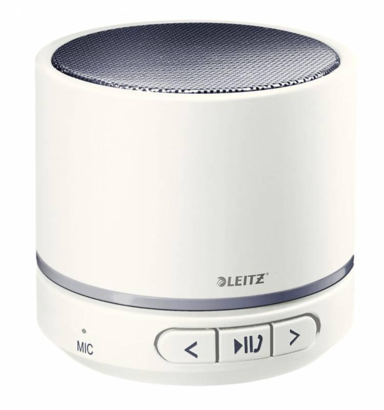 Højttaler Leitz WOW bærbar mini Bluetooth hvid