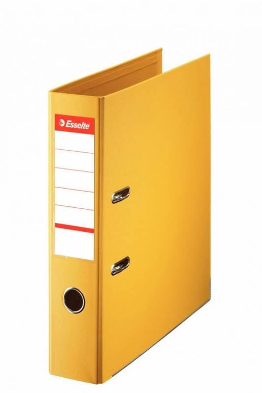 Billede af Brevordner Esselte No.1 Power gul A4 bred