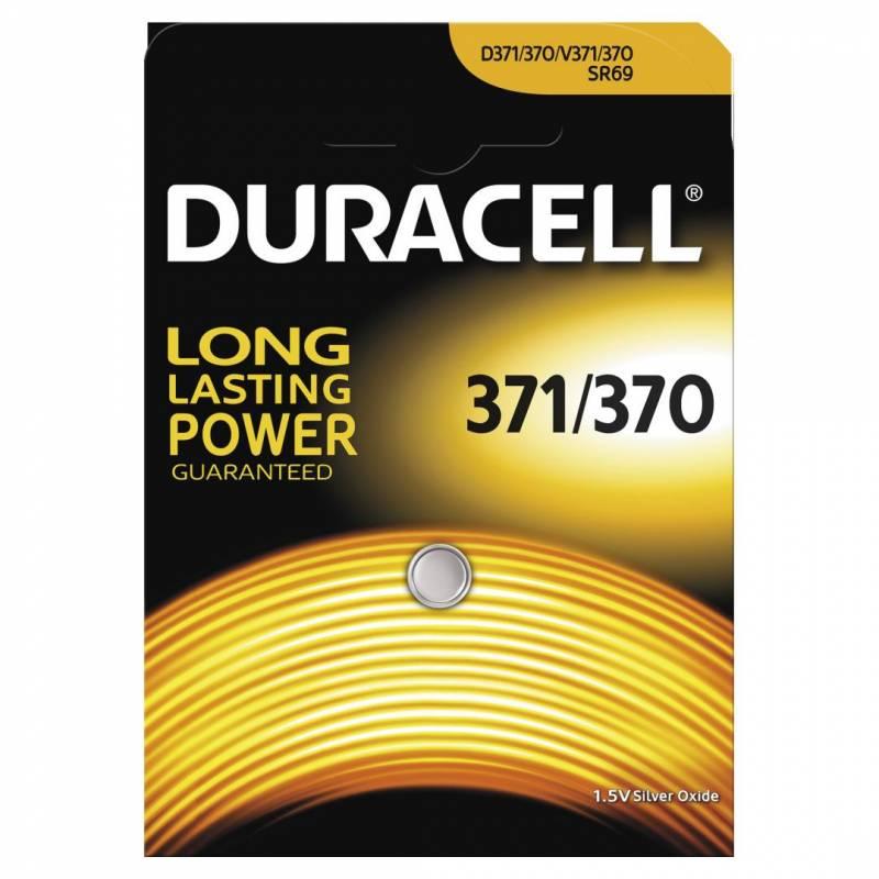 Image of   Batteri Duracell 371/370 1,5V Silver Oxide 1stk/pak