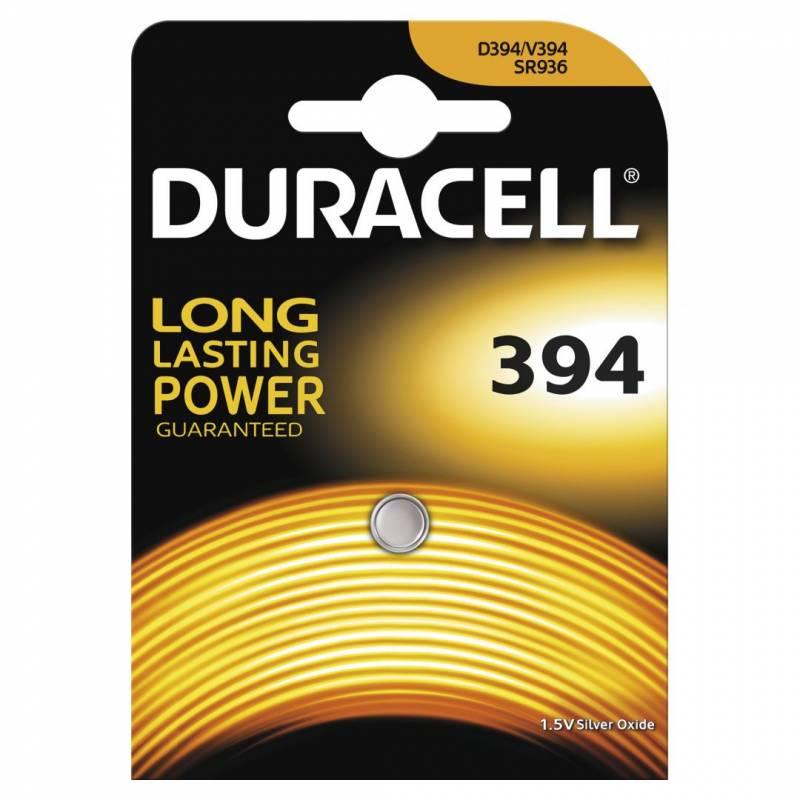 Image of   Batteri Duracell 394 1,5V Silver Oxide 1stk/pak