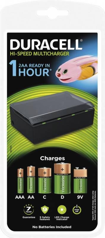 Image of   Batterilader Duracell Universallader