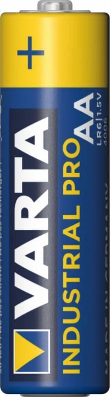 Billede af Batteri Varta Industrial LR 06 AA 4stk/pak