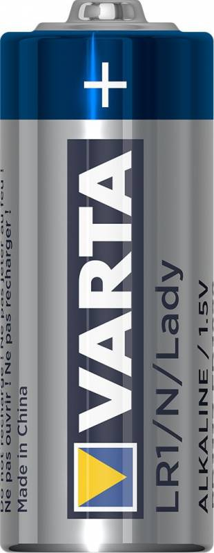 Image of   Batteri Varta High Energy Lady LR1 N 1,5V blisterpak 1stk