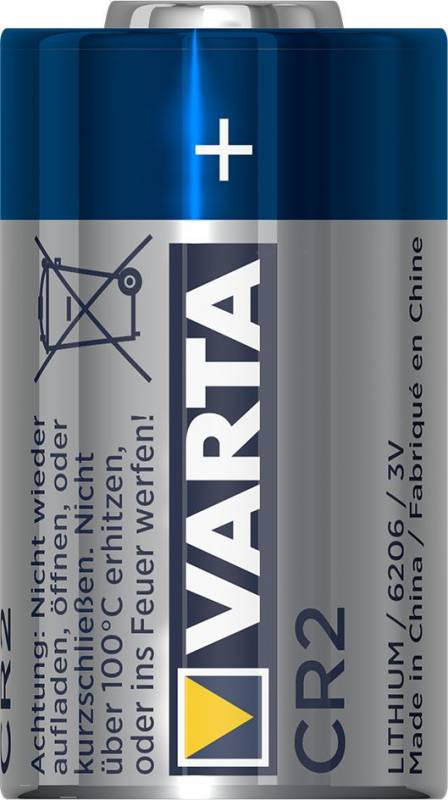 Image of   Batteri Lithium photo Varta CR 2 3,0V 920mAh 1stk/pak