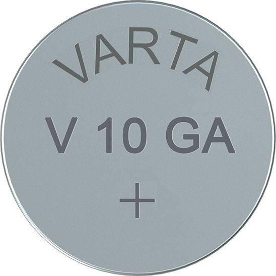 Image of   Batteri Electronic Varta LR54 V10 GA 1,5V 50mAh 1stk/pak