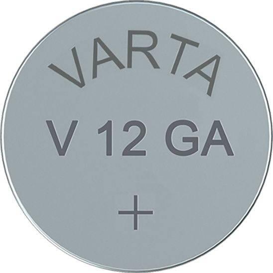 Image of   Batteri Electronic Varta LR43 V12 GA 1,5V 80mAh 1stk/pak