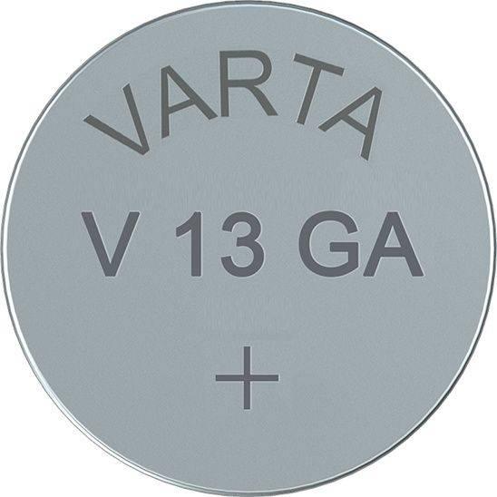 Image of   Batteri Electronic Varta LR44 V13 GA 1,5V 125mAh 1stk/pak