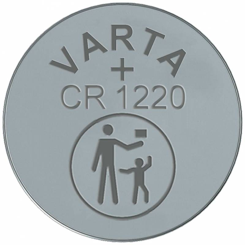 Image of   Batteri Electronic Varta CR1220 3V 35mAh 1stk/pak