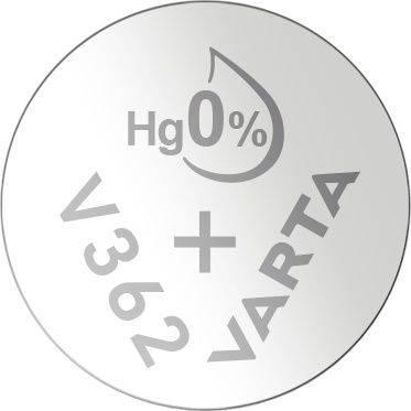 Image of   Batteri Varta ur V362 SR58 1,55V 21mAh 1stk/pak