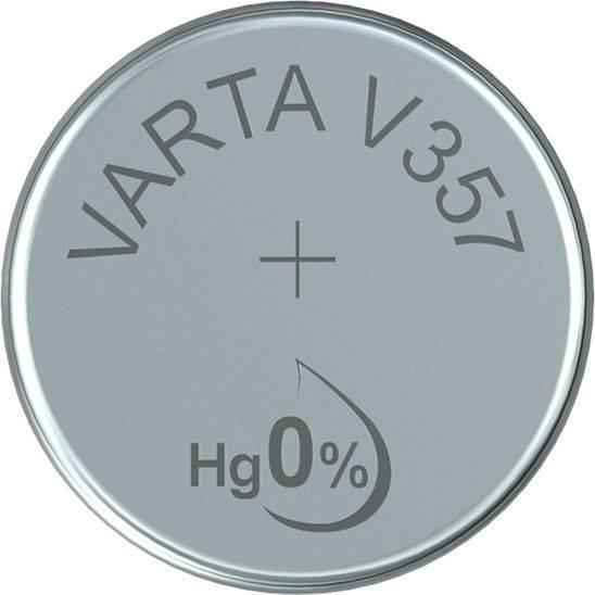 Image of   Batteri Varta ur V357 SR44 1,55V 180mAh 1stk/pak