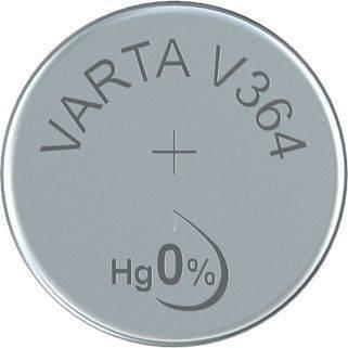 Batteri Varta ur V364 SR60 1,55V 20mAh 1stk/pak