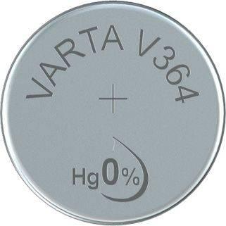 Image of   Batteri Varta ur V364 SR60 1,55V 20mAh 1stk/pak