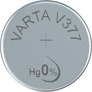 Image of   Batteri Varta ur V377 SR66 1,55V 27 mAh 1stk/pak
