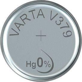 Image of   Batteri Varta ur V379 SR63 1,55V 14mAh 1stk/pak