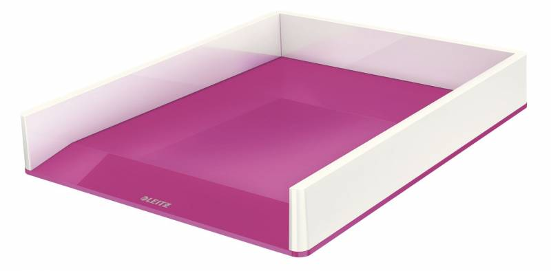 Image of   Brevbakke Leitz WOW tofarvet pink metallic