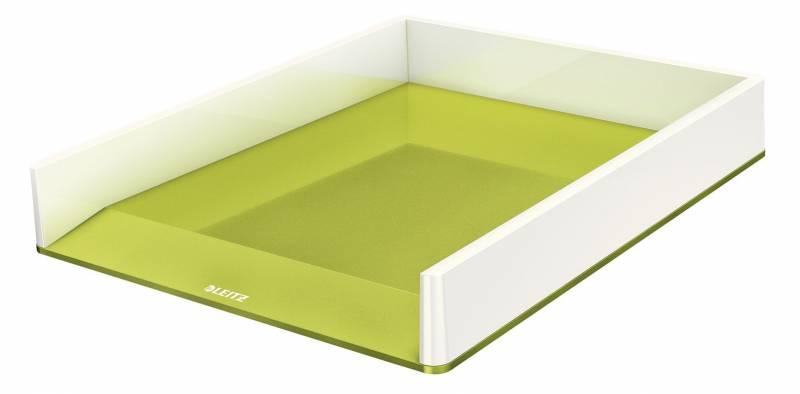 Image of   Brevbakke Leitz WOW tofarvet grøn metallic