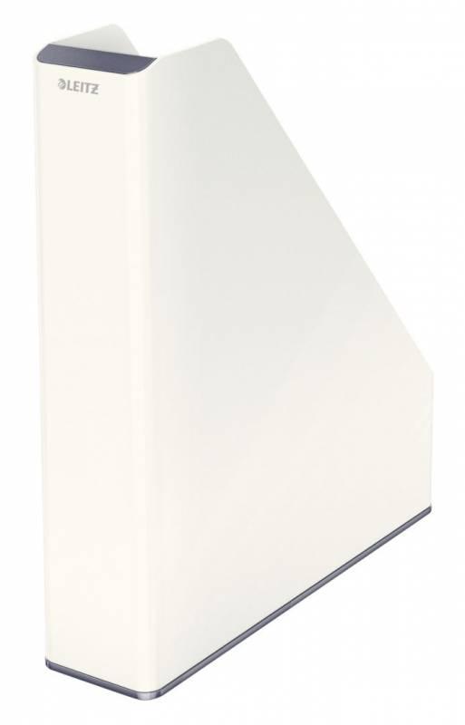 Image of   Tidsskriftsamler Leitz WOW tofarvet hvid