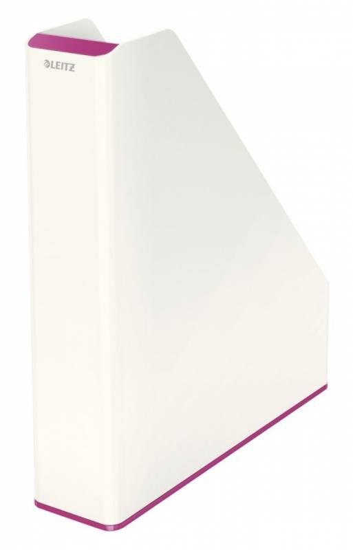 Image of   Tidsskriftsamler Leitz WOW tofarvet pink