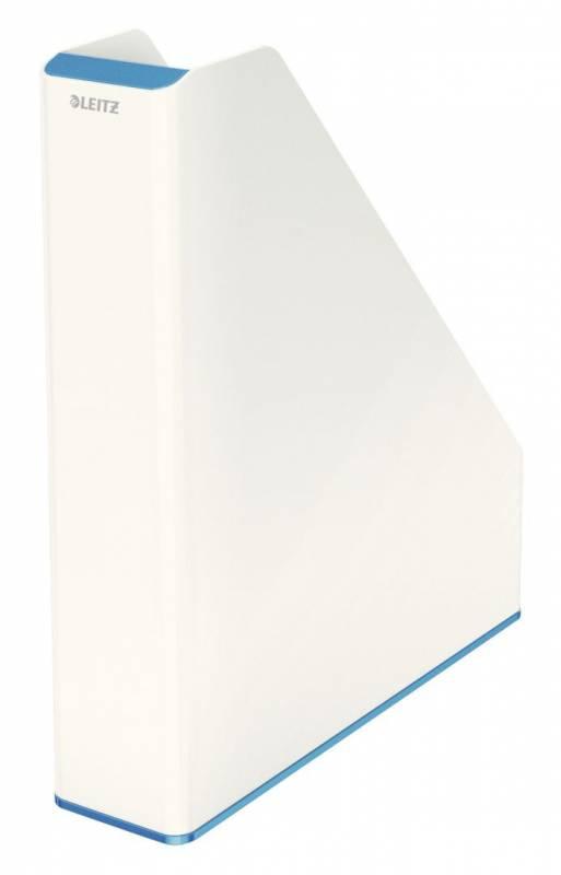 Image of   Tidsskriftsamler Leitz WOW tofarvet blå