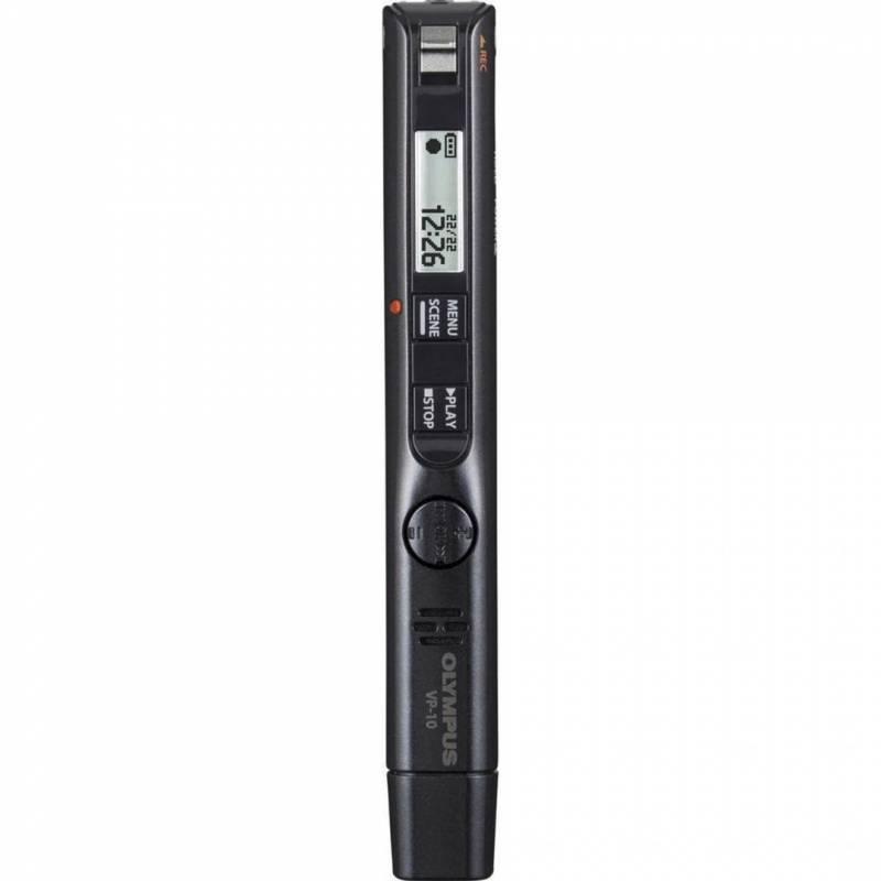 Diktafon Olympus VP-10 4GB Ni-MH batteri + USB kabel