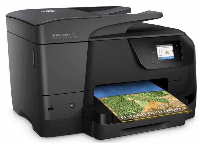 Blækprinter HP OfficeJet Pro 8710 e-AiO