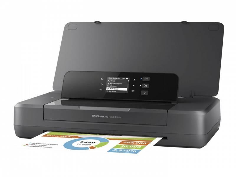 Blækprinter HP OfficeJet Pro 200 mobile